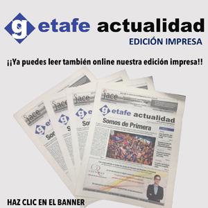 Consulta la edición impresa de Getafe Actualidad