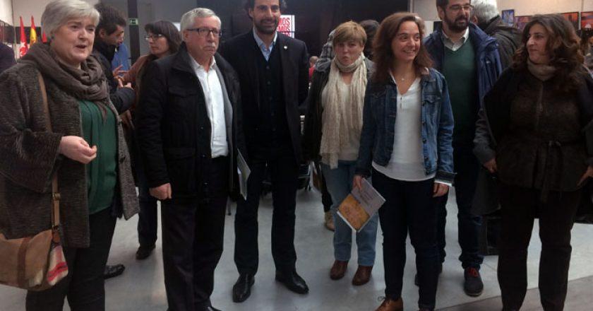 Sara Hernández e Ignacio Fernández Toxo