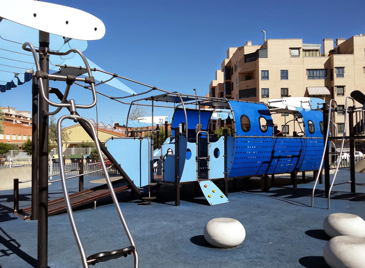parque infantil Getafe