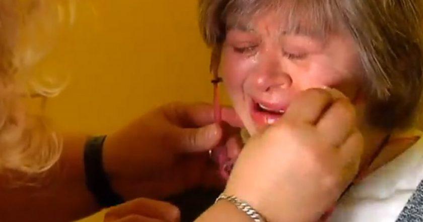 Mujer síndrome de Down (Periódico de Catalunya)