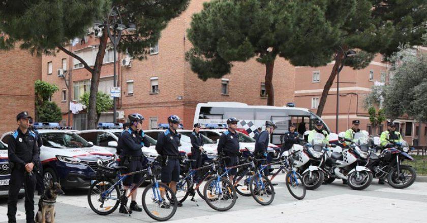 policia bicicleta