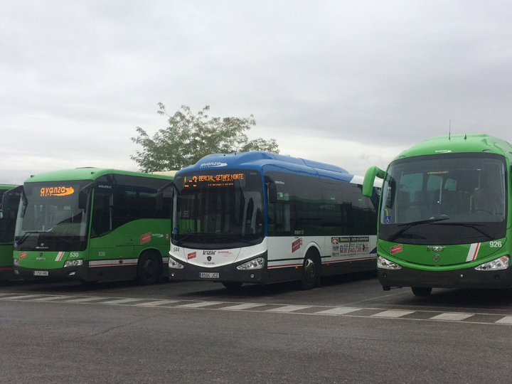 Avanza autobús huelga
