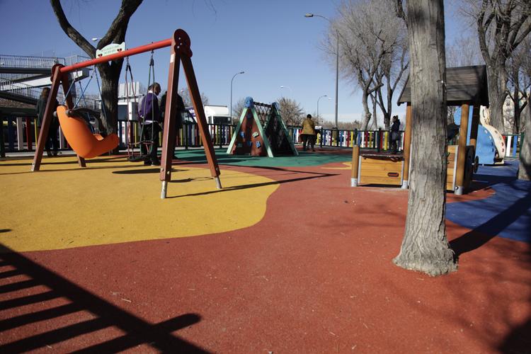 parques columpios discapacidad