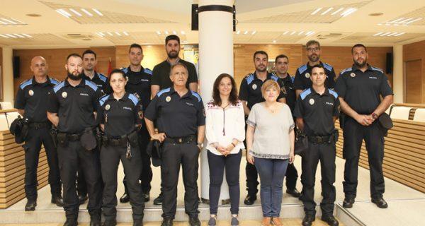 nuevos policias agentes