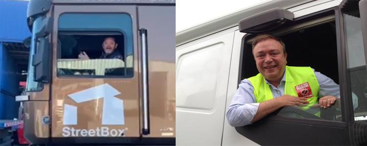 carlos soler camion campañaqcarlos soler camion campaña